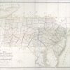 Map of New Jersey and Pennsylvania : exhibiting the post offices, post roads, canals, rail roads, &c.
