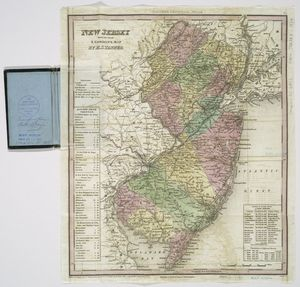 New Jersey / reduced from T. Gordon's map by H.S. Tanner ; J. Knight, sc.