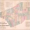 Map of the local boundaries of the Protestant Episcopal Churches of the city of New York.
