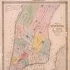 Map of the City of New-York with part of Brooklyn and Williamsburgh : population in the year 1850: 450,000 inhabitants.