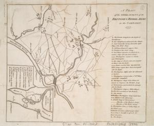 A plan of the operations of the British & Rebel army in the Campaign, 1777 / J. Lodge, sculp.