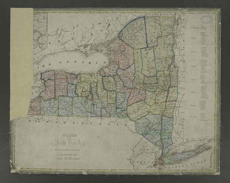 This is What New York Looked Like  in 1840
