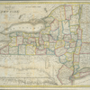 The tourist's map of the state of New York : compiled from the latest authorities in the Surveyor General's office