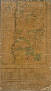 Map of the counties of Dutchess and Putnam / by David H. Burr ; engd. by Rawdon, Clark & Co., Albany, & Rawdon, Wright & Co., N.Y.