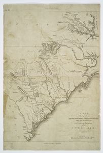 A map of those parts of Virginia, North Carolina, South Carolina & Georgia which were the scenes of the most important operations of the southern armies / compiled by S. Lewis ; engraved by Francis Shallus.