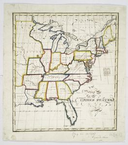 Map of the United States / Euphemia Fenno.