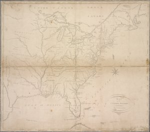 Map of the United States including Louisiana / I. Scoles, sc.