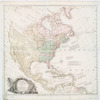 A general map of North America : in which is express'd the several new roads, forts, engagements, & taken from actual surveys and observations made in the army employ'd there, from the year 1754, to 1761
