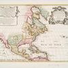 L'Amerique septentrionale : dressée sur les observations de Mrs. de l'Academie Royale des Sciences & quelques autres, & sur les memoires les plus recens