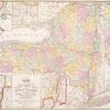 Map of the state of New York : compiled from the latest authorities