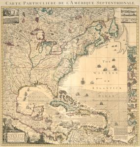A map of the British Empire in America : with the French, Spanish and Hollandish settlements adjacent thereto / by Henry Popple ; I. Condet s.