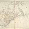 Carte nouvelle de l'Amerique angloise: contenant la Virginie, Mary-Land, Caroline, Pensylvania, Nouvelle Iorck, N. Iarsey, N. France, et les terres nouvellement decouerte dressé sur les relations les plus nouvelles