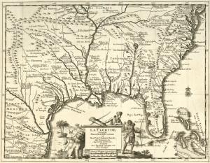 La Floride : suivant les nouvelles observations de Messrs. de l'Academie royale des sciences, etc. augmentées de nouveau. / A Leide, Chez Pierre Vander A.A., avec privilege.