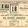 Baile de gala y artistico : en homenaje del decimo aniversario de la Sociedad de Actores Israelitas, a total beneficio para la caja mutua de la Sociedad.