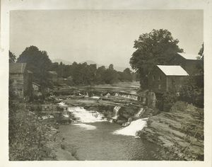 Photographs of the Catskill water supply system in process of construction