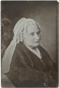 Mrs. Robert E. Lee, 1806-73.