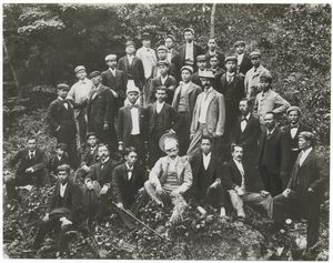 Aguinaldo and his Advisers, 1899.