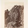 Rain sculpture, Salt Creek Cañon, Utah.  Geological Series.  No. 48.