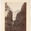 Limestone walls, Kanab Wash.  Geological Series.  No. 63.
