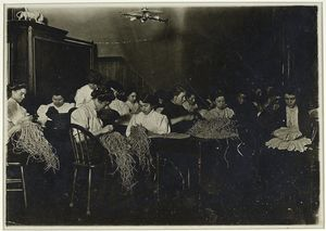 Night class in millinery [darker print]