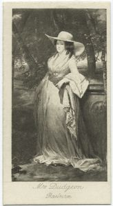 Lady of the Family Dudgeon, Sir Henry Raeburn, R.A..