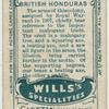 British Honduras.