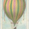First balloon flight in England.