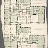 471 Park Avenue. Typical plan of mezzanine or chamber floor; Typical plan of main or living room floor.