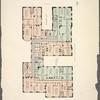 Typical floor plan of Addition to the Hendrik Hudson Apartments.