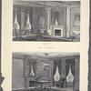 The Langham. A drawing room (style, 'Adam'); A library (style, 'Modern French Renaissance').