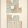 Washington Irving. Plan of upper floors; Plan of first floor.