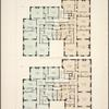 Stanley Court. Plan of 2nd - 6th floors ; Plan of 7th - 12th floors.
