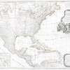 A new map of North America with the West India Islands : divided according to the preliminary articles of peace, signed at Versailles, 20, Jan. 1783 ; wherein are particularly distinguished the United States and the several provinces, governments & ca. which compose the British dominions