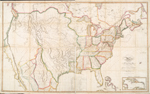 Map of the United States : with the contiguous British & Spanish possessions