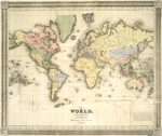 The world, on Mercator's projection