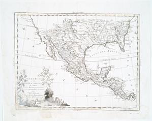Messico, ouvero Nuova-Spagna : che contiene il Nuovo Messico, la California con una parte de paesi adjacenti / G. Pitteri scr.