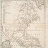 An accurate map of the British, French & Spanish settlements in Nth. America and the West Indies: as stipulated by the preliminary articles of peace sign'd at Fontainebleau by the ministers of Great Britain, France & Spain, Novr. 3d, 1762
