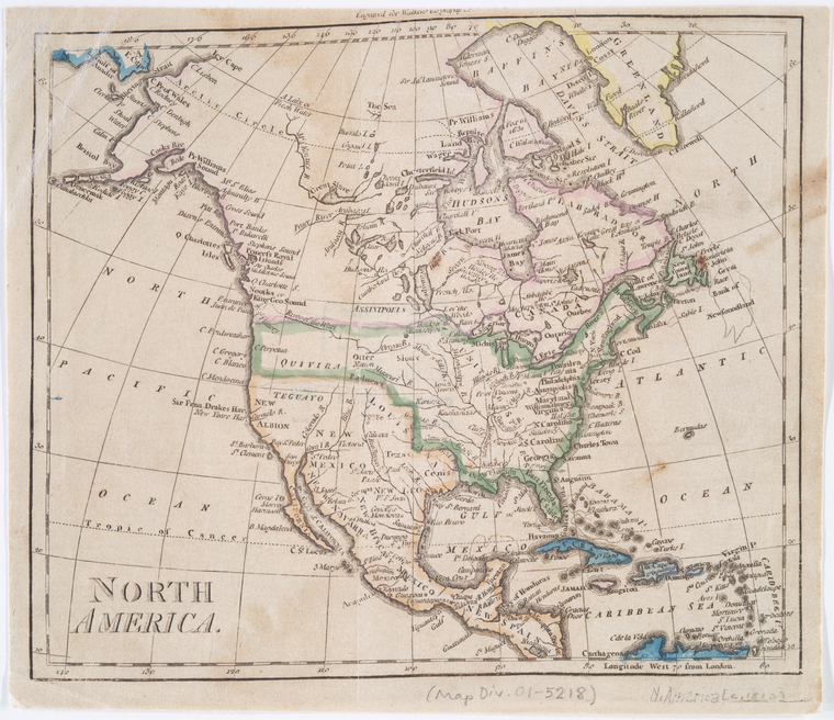 This is What John Walker and North America Looked Like  in 1810