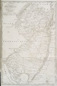 The state of New Jersey : compiled from the most authentic information / compiled by Samuel Lewis ; engraved by W. Barker.