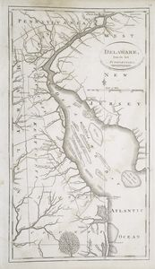 Delaware, from the best authorities / W. Barker, sculp., Philada.