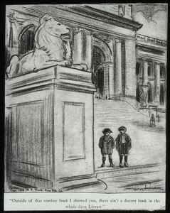 Central building, cartoons : O... Digital ID: 465329. New York Public Library