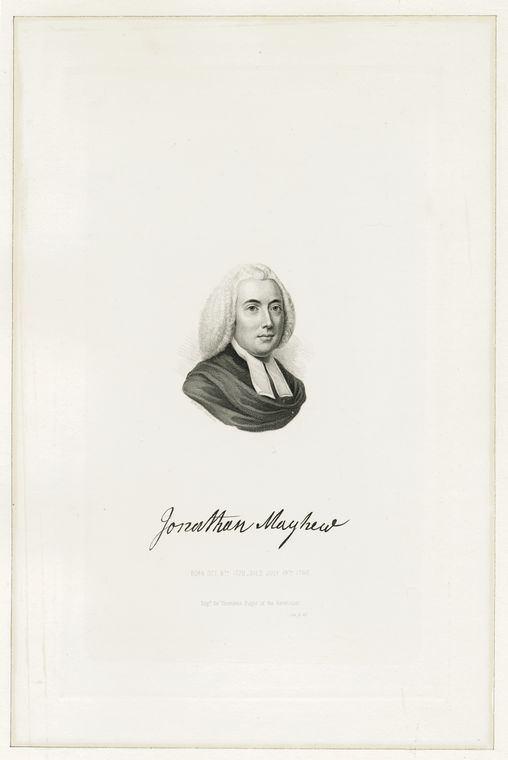 This is What Henry W Smith and Jonathan Mayhew born Oct. 8th 1720 died July 19th 1766 Looked Like  in 1860
