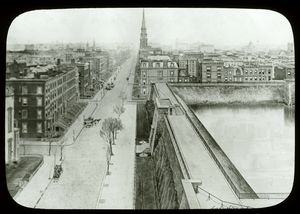 Croton reservoir : Fifth Avenue in 1879, looking south.
