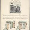 The Rivercrest, southwest corner Fort  Washington Avenue and 160th Street; Plan of first floor; Plan of upper floors.