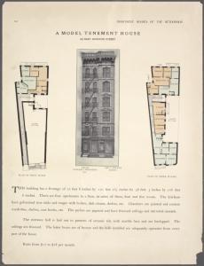 A model tenement house. 310 Ea... Digital ID: 465716. New York Public Library