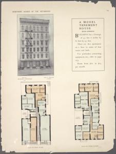 A model tenement house. 224-22... Digital ID: 465717. New York Public Library