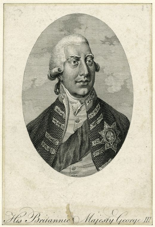 This is What King of Great Britain George III Looked Like