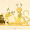 Thoth, le second Hermès identifié avec la Lune.