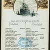 DAILY BREAKFAST [held by] NORDDEUTSCHER LLOYD BREMEN [at] KONIGIN LUISE (SS;)