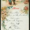 "DINNER [held by] HOTEL DE L'ANGE [at] ""LUCERNE,SWITZELAND"" (HOTEL; FOREIGN;)"
